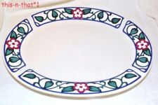 Pfaltzgraff Oval Platter Arbor Vine Medium Tableware 12.25 Inches
