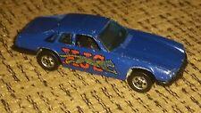 Hot Wheels Vintage Blackwall Tires Jaguar Xjs Navy Dark Blue toy race care 1977
