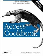 Access Cookbook, 2nd Edition, Ken Getz, Paul Litwin, Andy Baron, Good Book