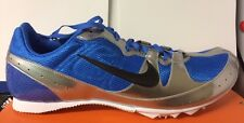 Nike Mens Running Shoes Spikes Zoom Rival MD 5 UK 11.5 & 14 Lightweight Blue NEW