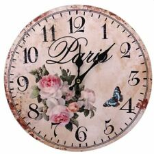 Decorative Fine Wooden Wall Clock (Paris)