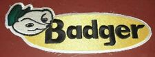 Vtg Badger Northland Farm Equipment Machinery Embroidered NOS 10