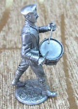 Tin Figurine Figure Toy Soldier Model 1:32 54 mm Russia Drummer White Guard