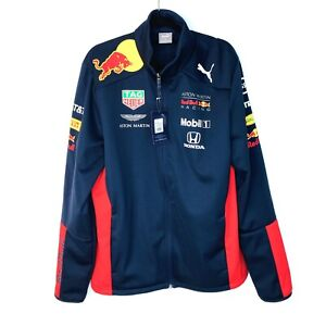 Puma Red Bull Aston Martin Jacket BNWT Men's Size Large Tag Heuer