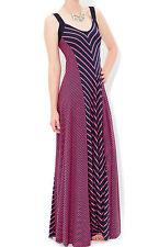 Monsoon Viscose Striped Sleeveless Dresses for Women