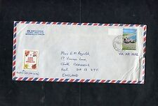 Cover 1979 Bermuda Postmark & Stamp. Addressed Gravesend with 3 Page Letter