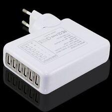 4000mAh Universal 6x USB Port Mehrfach Adapter Home Haus Netz Netzteil Ladegerät