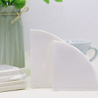 Filtropa Size S//L coffee filter papers for cone shaped brewers pack of 50-White