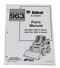 Bobcat 963 G Series Skid Steer Parts Catalog Manual Part Number 6900907