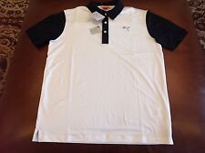 Puma Golf Sportlifestyle mens black back print polo shirt,size S, MSRP $70, NWT!