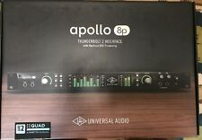 Universal Audio Apollo 8p Thunderbolt Audio Interface with QUAD Processing