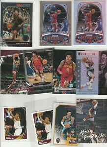 KEVIN PORTER JR. LOT (11) DIFFERENT W/ 9 2019-20 ROOKIES RC PARALLELS ILLUSIONS