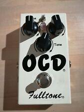 Fulltone OCD Obsessive Compulsive Drive Overdrive Guitar Effect Pedal