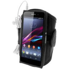 Noir Armband Brassard Sport pour Sony Xperia Z1 Honami C6902 Smartphone Gym Jog