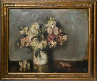 Russian Modernist Master Shillingovsky 20C Oil Painting : Still Life w Flowers