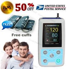 Ambulatory Blood Pressure Monitor 24Hour sphygmomanometer Adult/Large/Child Cuff