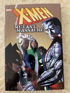 X-Men: Mutant Massacre HC Hardcover yellow cover, OHC 2009 First Printing