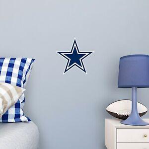 "Dallas Cowboys FATHEAD Official Primary Team Logo 9.5""x9.5"" NFL Wall Graphics"