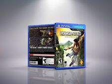 Uncharted: Golden Abyss - Replacement PlayStation Vita Cover & Case. NO GAME!!