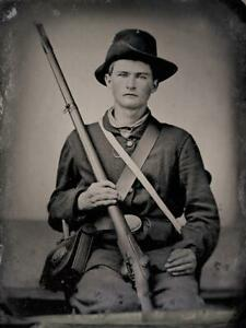 Master Series Collection Civil War Soldier Ninth-Plate Tintype C2731RP