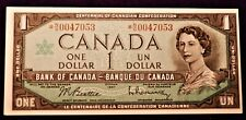 BANK OF CANADA  1967  $1.00 - REPLACEMENT NOTE - CHOICE  UNCIRCULATED