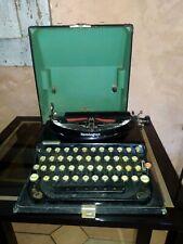 Machine à écrire Remington C.1900 / 1920 fonctionne Anton Waltisbuhl & Co *