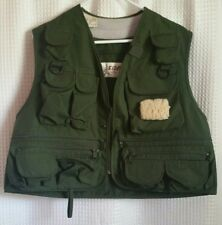 Eider Quality Outdoor Clothing Green Fising Hunting Vest Unisex Sz L