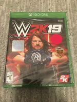WWE 2K19 XBOX ONE 1 2019 Brand New Factory Sealed