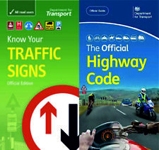 DVSA OFFICIAL HIGHWAY CODE & KNOW YOUR TRAFFIC SIGNS PAPERBACK 2020