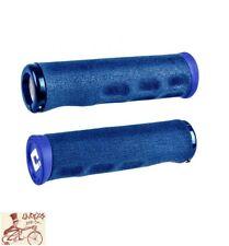 ODI DREAD LOCK LOCK-ON BLUE MTB--BMX BICYCLE GRIPS