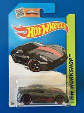 RARE 2015 Hot Wheels SILVER 2009 FERRARI 599XX V12 F1 RACING CAR - Mint on card!