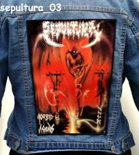 SEPULTURA   Back Patch Backpatch ekran new