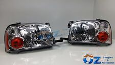 NISSAN NAVARA D22 Head lights Headlamps NEW PAIR left & right 2001-2014