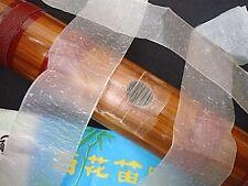 1 PACK HORIZONTAL VERTICAL BAMBOO FLUTE MEMBRANE DI MOR CHINESE JAPANESE DI ZI