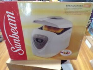 NEW Sunbeam 2 lb Breadmaker Programmable Pound  #5891 bread maker machine baker