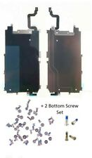 """LCD Metal Backplate Shield + Home Button Flex + SCREW SET For iPhone 6 4.7"""""""