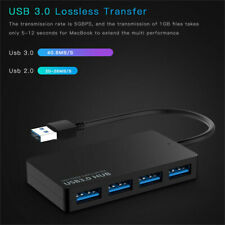4 Speed Port USB 3.0 HUB Splitter Expansion Cable Laptop Adapter Converter-