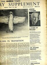 TIMES LITERARY SUPPLEMENT(UK)-BOUND VOL-JAN-JUNE 1961-FEAST OF CLASSIC CRITICISM