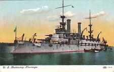 Postcard U.S. Battleship Kearsage