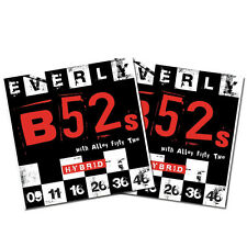 Everly B52's Electric Guitar Strings - Nickel Alloy Hybrid - 9-46 - 9219 -2Packs