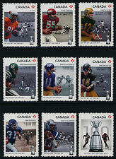 Canada 2568i-76i MNH CFL, Grey Cup, Football