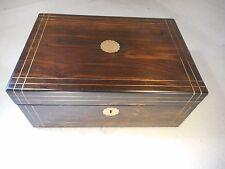 Antique Coromandel Writing Slope Box     ref 1950