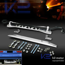 For 92-95 Civic Silver Rear Sway Bar Kit+Subframe Brace+L Tie Bar 94-01 Integra
