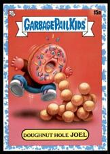 2021 Garbage Pail Kids Food Fight Base Spit Blue #15a DOUGHNUT HOLE JOEL /99