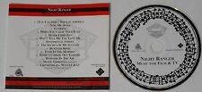 Night Ranger  Music For Film & TV  U.S. promo cd  -Rare!