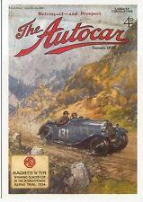 MG N Type 1935 MODERN postcard issued by Vintage Ad Gallery