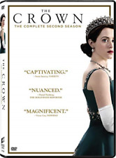 The Crown Series Season 2 Two Second Genuine UK R2 DVD Immediate DISPATCH