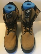 STC Steel Toe Work Boots Size 14 Mens Brown Extreme Comfort Thinsulate
