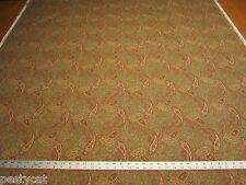 "5 1/2 yards 5th Avenue ""Ballard"" paisley cotton print fabric r1189"