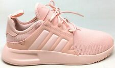 Adidas Unisex Kids X PLR J Athletic Sneakers Ice Pink White Size 4.5 M US